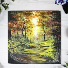 V nitru lesa