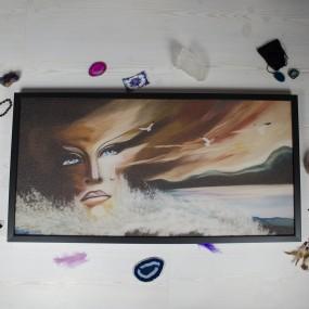 Hřejivý obraz - Melancholie reprodukce - 450W
