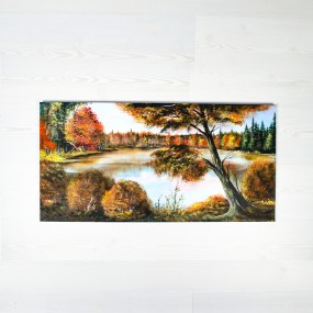 Podzimní jezero