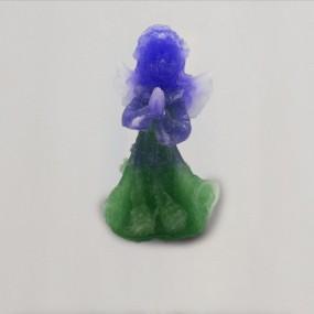 Andílek - Smaragdovo fialový